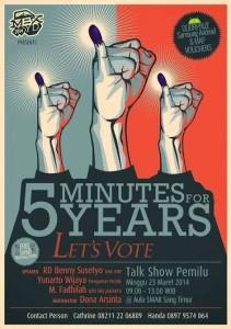 Talk Show Pemilu 2014