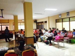 Peserta Pelatihan Jurnalistik Komkep KWI