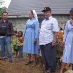 Uskup Prajasuta MSF saat Kunjungan ke Stasi Surian ok