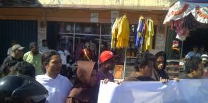 aksi turun jalan PMKRI dan para FRATER