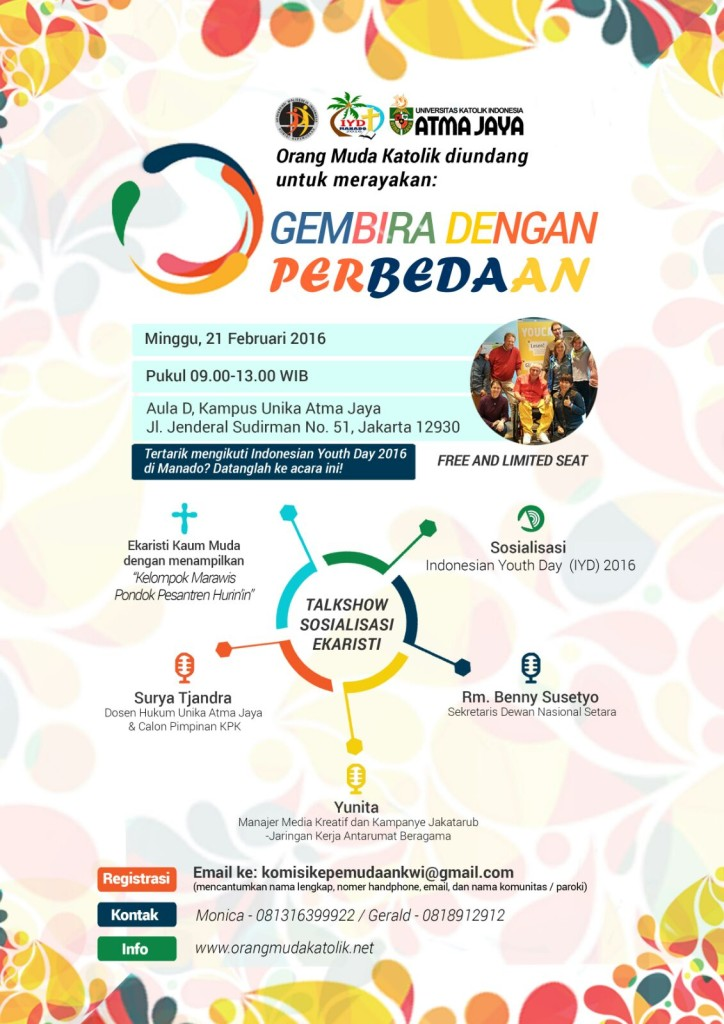 ROAD TO Indonesian Youth Day 2016