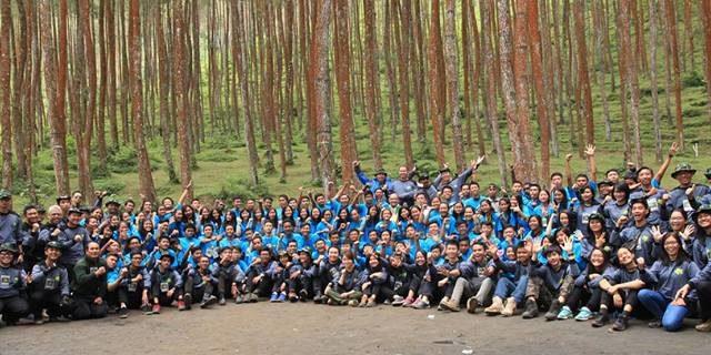 Mencintai Alam, Keluarga, Gereja dan Negara dari Hutan Mangli