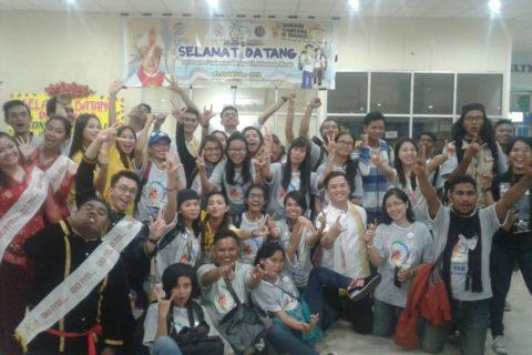 OMK Bersatu Dalam Kemajemukan di Bandara Samrat Manado