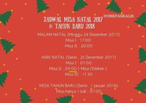 jadwal misa 15