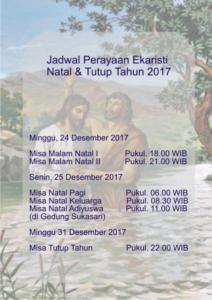 jadwal misa 35