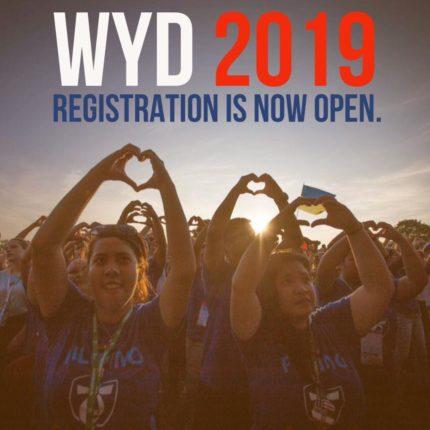open pendaftaran WYD