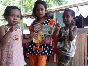 TBM Komunitas Rimba Manokwari, Papua