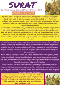 surat untuk orang muda