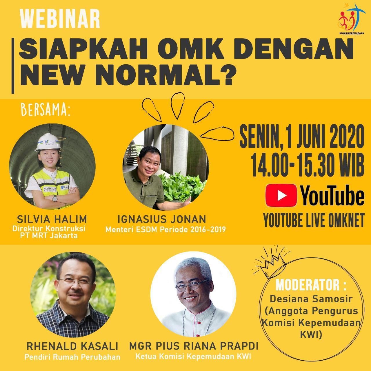 Siapkah OMK Dengan New Normal?